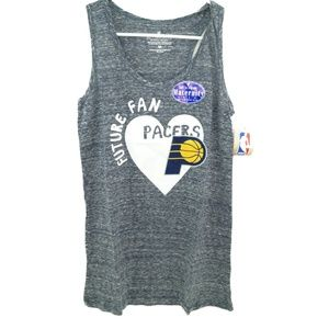 Tops - NBA Indiana Pacers Women's Maternity Shadow Tank